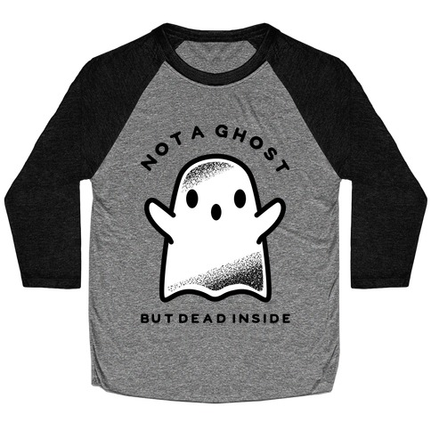 Not A Ghost Baseball Tee