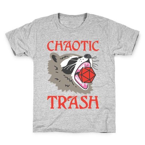 Chaotic Trash (Raccoon) Kids T-Shirt