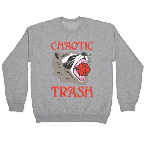 Chaotic Trash (Raccoon) Pullover