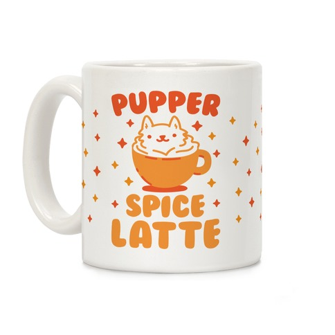 Pupper Spice Latte Coffee Mug