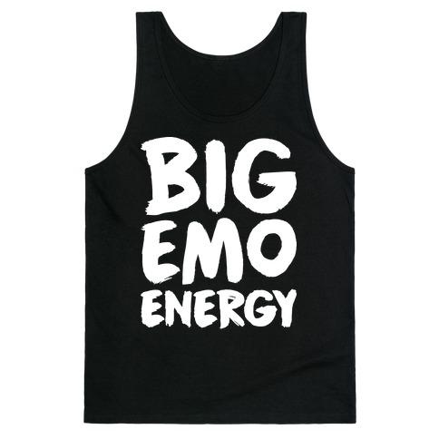 Big Emo Energy Tank Top