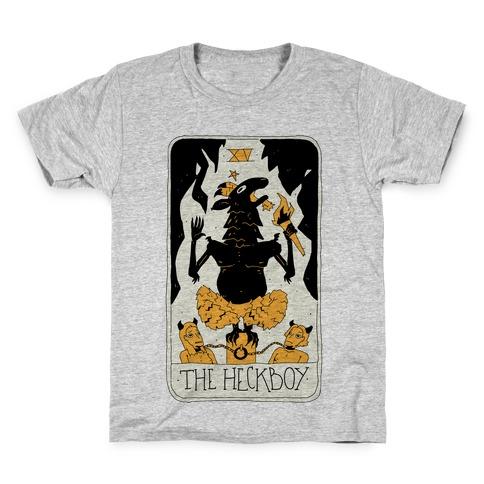 The Heckboy Tarot Card Kids T-Shirt