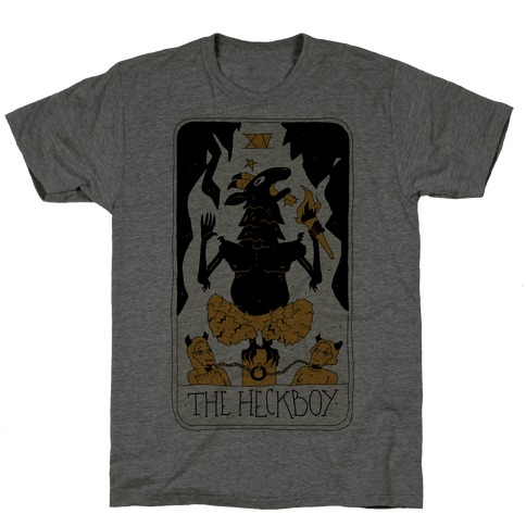 The Heckboy Tarot Card T-Shirt