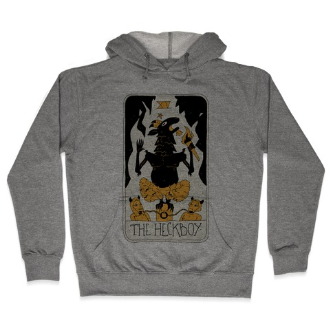 The Heckboy Tarot Card Hooded Sweatshirt