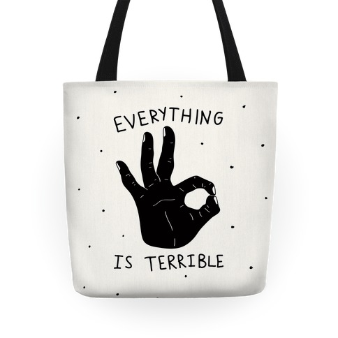 Everything Is Terrible Tote