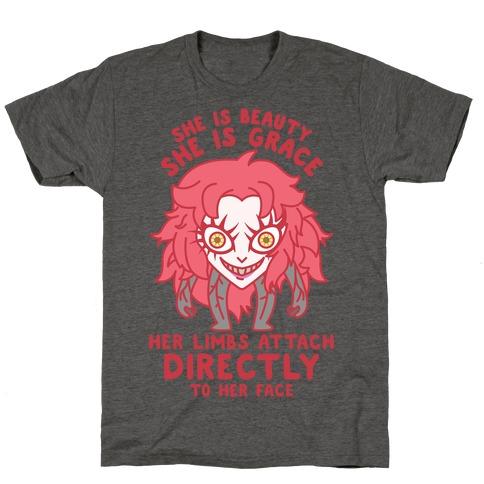 She Is Beauty She Is Grace Psycho Jenny T-Shirt
