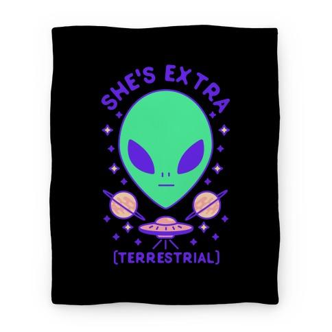 She's Extraterrestrial Blanket