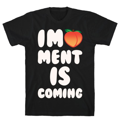 Impeachment Is Coming White Print T-Shirt