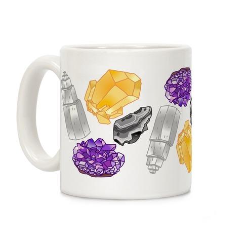 Enby Crystals Coffee Mug