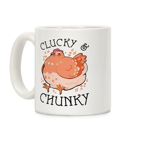 Clucky And Chunky Coffee Mug
