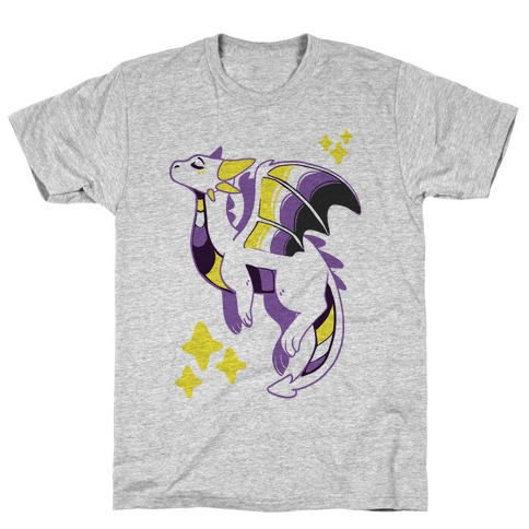 Non-Binary Pride Dragon T-Shirt