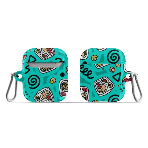 Lunch Pack Snack Pattern AirPod Case