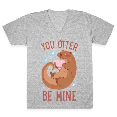You Otter Be Mine V-Neck Tee Shirt