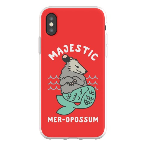 Majestic Mer-Opossum Phone Flexi-Case