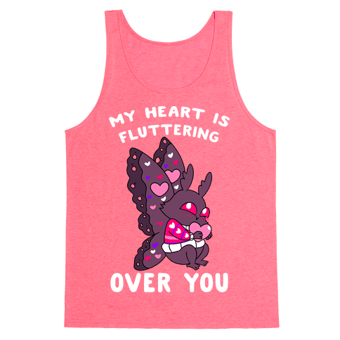 My Heart Is Fluttering Over You Tank Top
