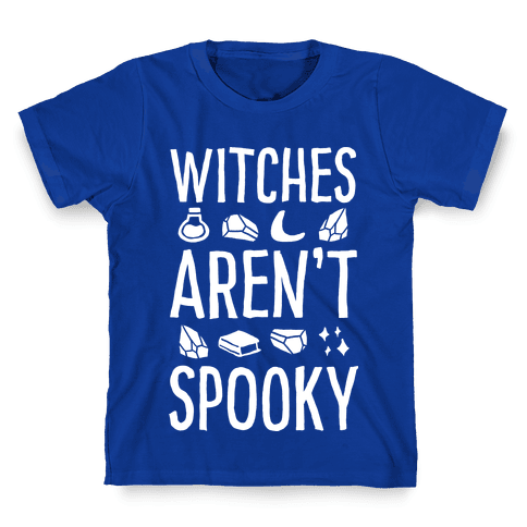 Witches Aren't Spooky Kids T-Shirt