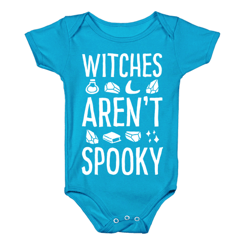 Witches Aren't Spooky Baby Onesy