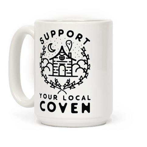 Support Your Local Coven Coffee Mug