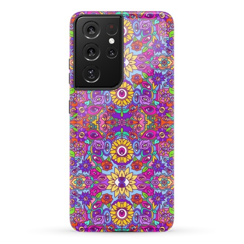 The Flowers Have Eyes Phone Case