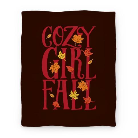 Cozy Girl Fall Blanket