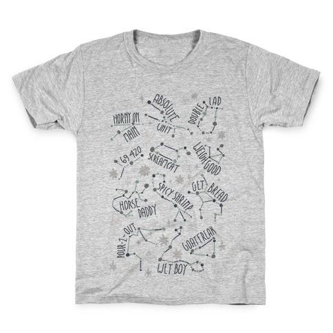 Asstrology Constellations Kids T-Shirt