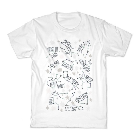 Asstrology Constellations Kids T-Shirt