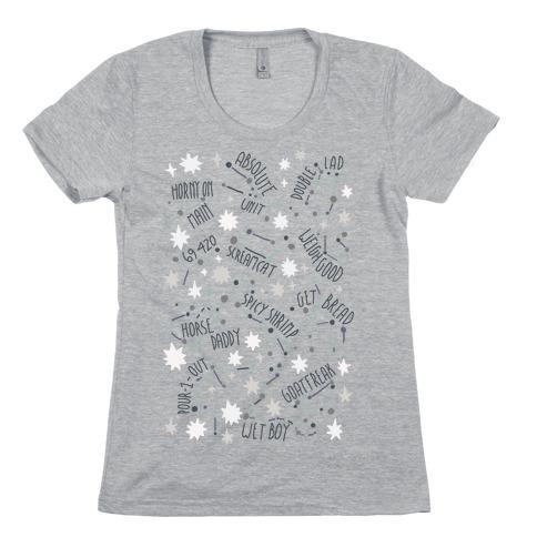 Asstrology Constellations Womens T-Shirt