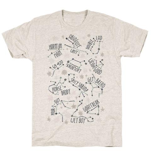 Asstrology Constellations T-Shirt