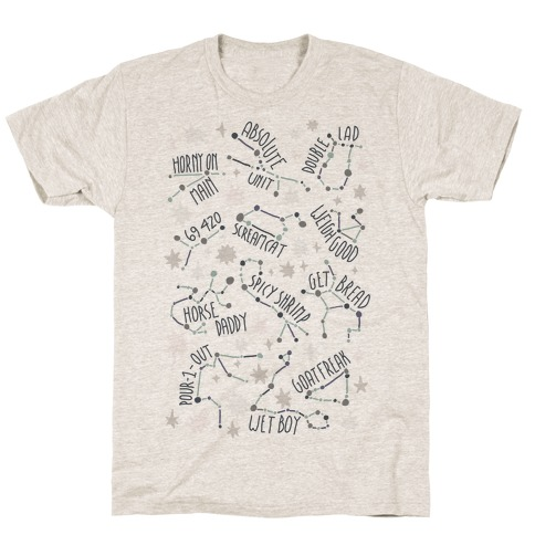 Asstrology Constellations T-Shirt