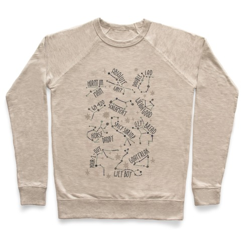 Asstrology Constellations Pullover
