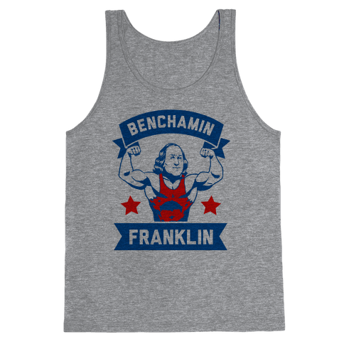Benchamin Franklin Tank Top