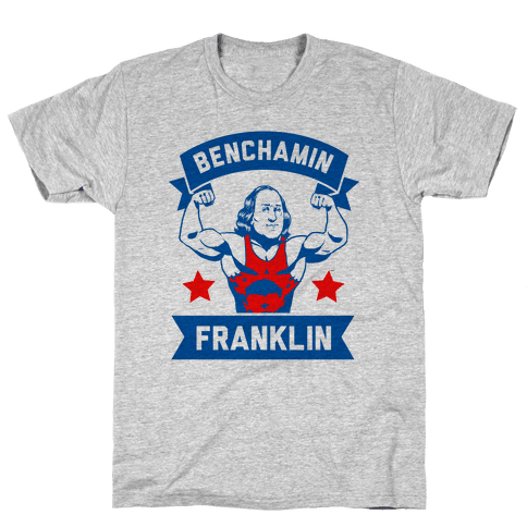 Benchamin Franklin Mens T-Shirt