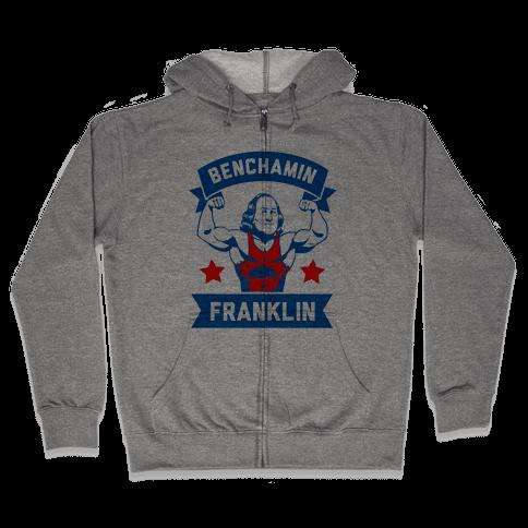 Benchamin Franklin Zip Hoodie