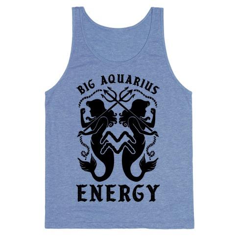 Big Aquarius Energy Tank Top