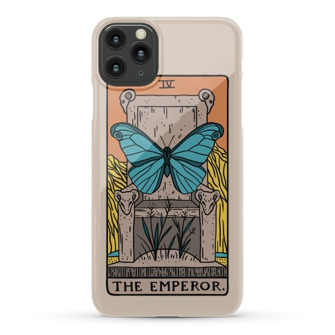 The Emperor Butterfly Tarot Phone Case