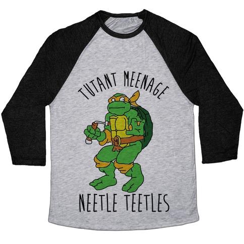 Tutant Meeage Nestle Teetles Mikey Baseball Tee