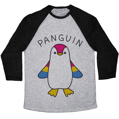 Panguin Baseball Tee