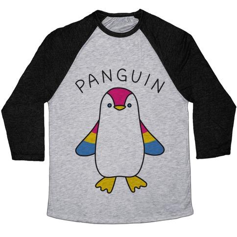 Panguin Baseball Tee