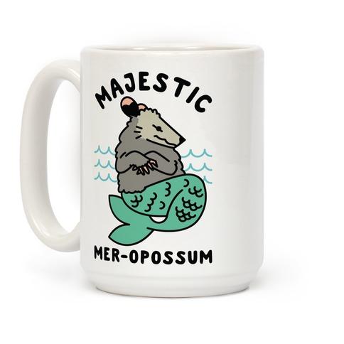 Majestic Mer-Opossum Coffee Mug