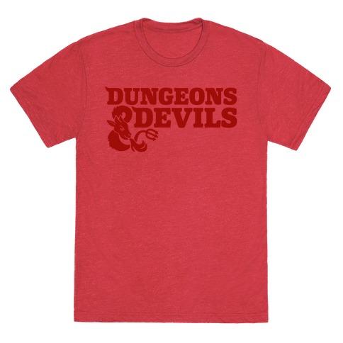 Dungeons & Devils Parody T-Shirt