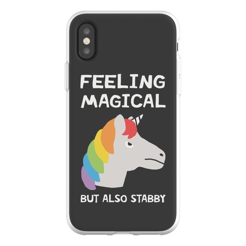 Feeling Magical But Also Stabby Phone Flexi-Case