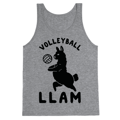 Volleyball Llam Tank Top