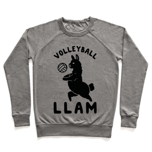 Volleyball Llam Pullover