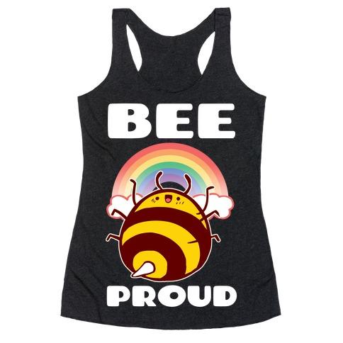 Bee Proud Racerback Tank Top