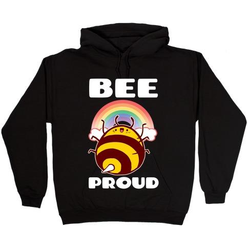 Bee Proud Hooded Sweatshirt