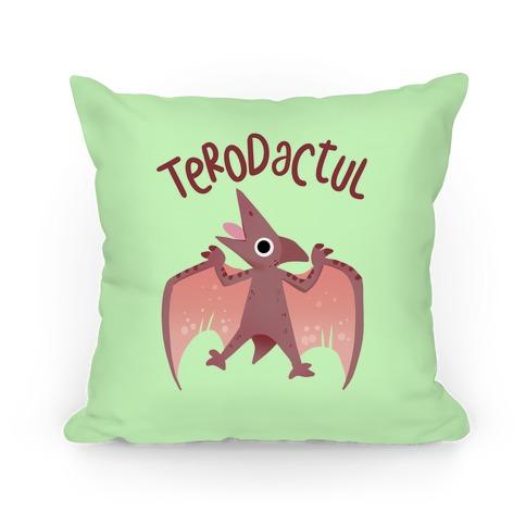 Derpy Animals Terodactul Pillow