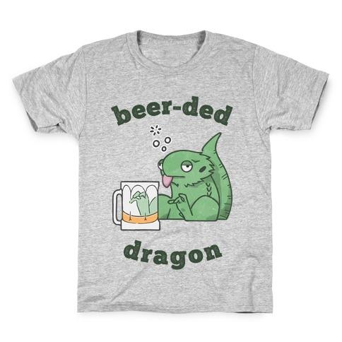 Beer-ded Dragon Kids T-Shirt