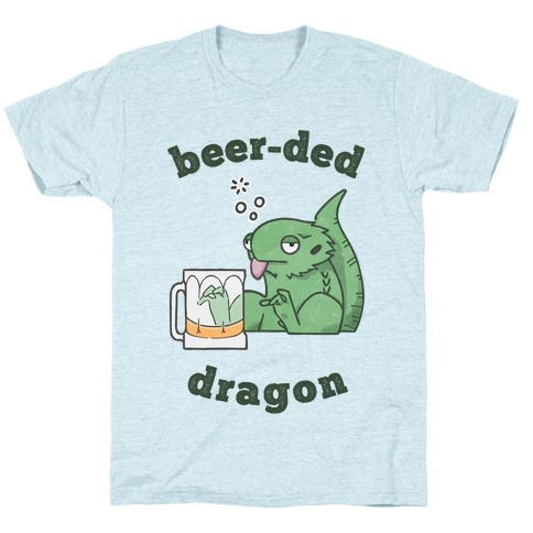 Beer-ded Dragon T-Shirt