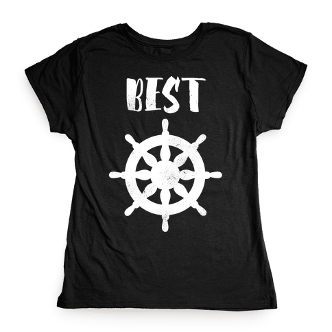 Best Mates Wheel  Womens T-Shirt
