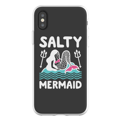 Salty Mermaid Phone Flexi-Case
